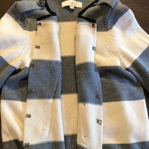 LOFT Sweaters - Ann Taylor LOFT Military Nautical Style Cardigan